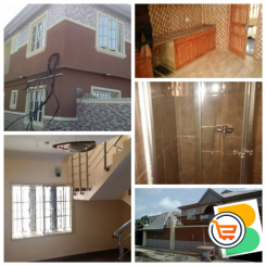 House with a 4 Bedroom Duplex, 2 Units of 3 Bedroom Flats and a Unit of 2 Bedroom Flat