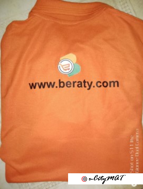 Beraty T-shirts Give-away