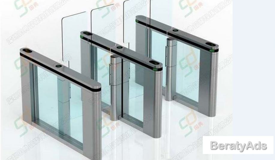 Optical Automatic Turnstiles Swing Door for Access Control System BY HIPHEN SOLUTIONS