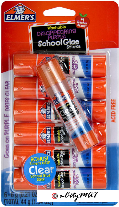 Elmer's Glue Stick (E4062) (7 sticks)