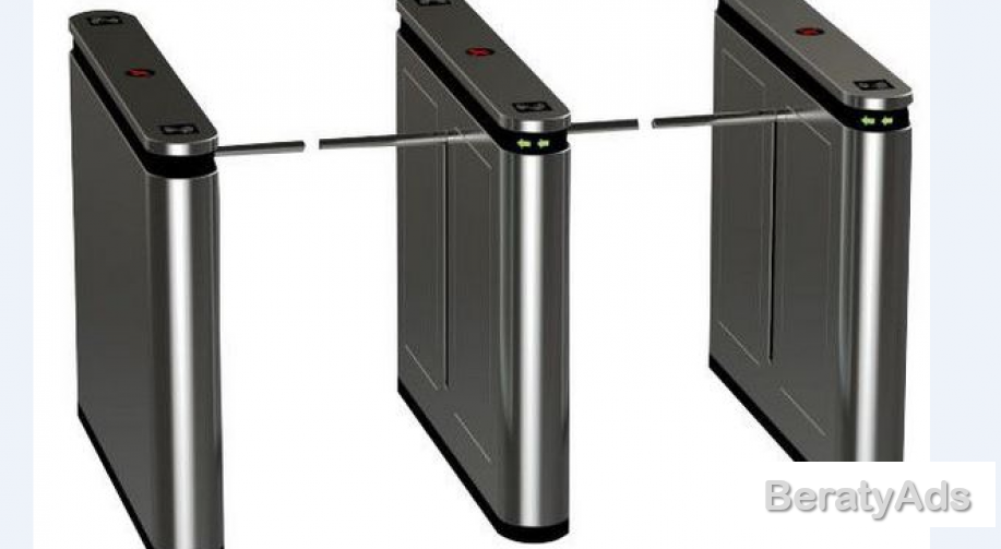 Speed Drop Arm Automatic Turnstiles Remote Contol Access Gate BY HIPHEN SOLUTIONS