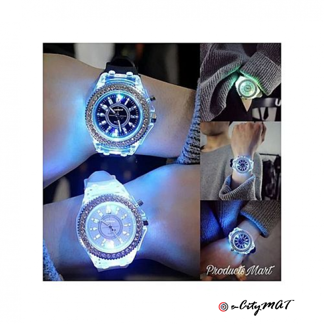 Geneva Luminous Led Wristwatch