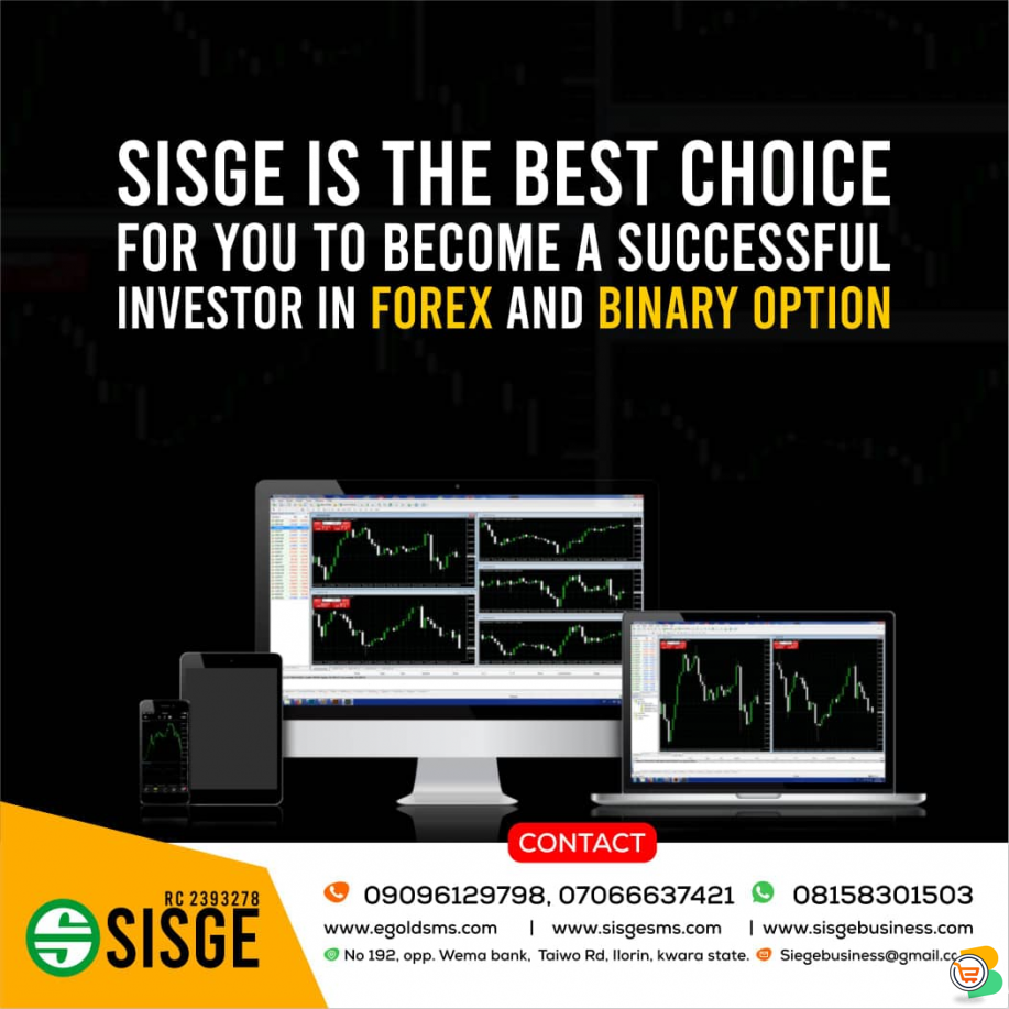BE A PROFESSIONAL TRADER @ SISGE FOREX INSTITUTE