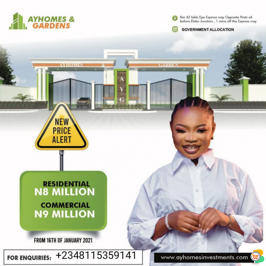 Residential and Commercial Land at Igando Area LEKKI - CALL 08115359141
