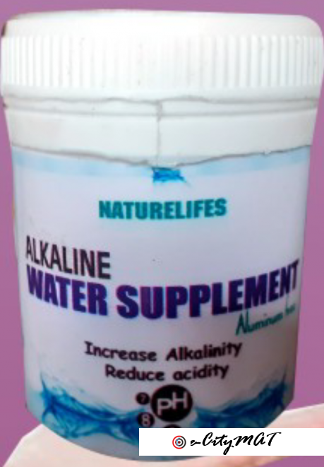 Alkalinize your water and live healthy