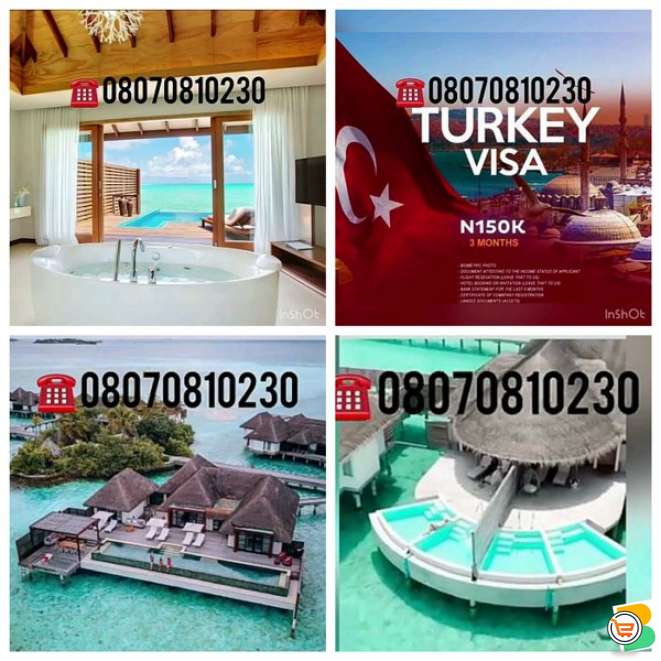 Want to travel on a Vacation, Rent a Car in Dubai, Process Your Visa, Call or Whatsapp - 08070810230