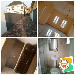FOR SALE - Luxurious 5 Bedrooms Duplex +BQ Located at Thomas Estate, Ajah