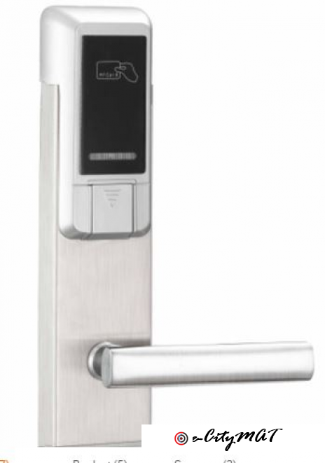 Wireless Card Door Lock BY HIPHEN SOLUTIONS