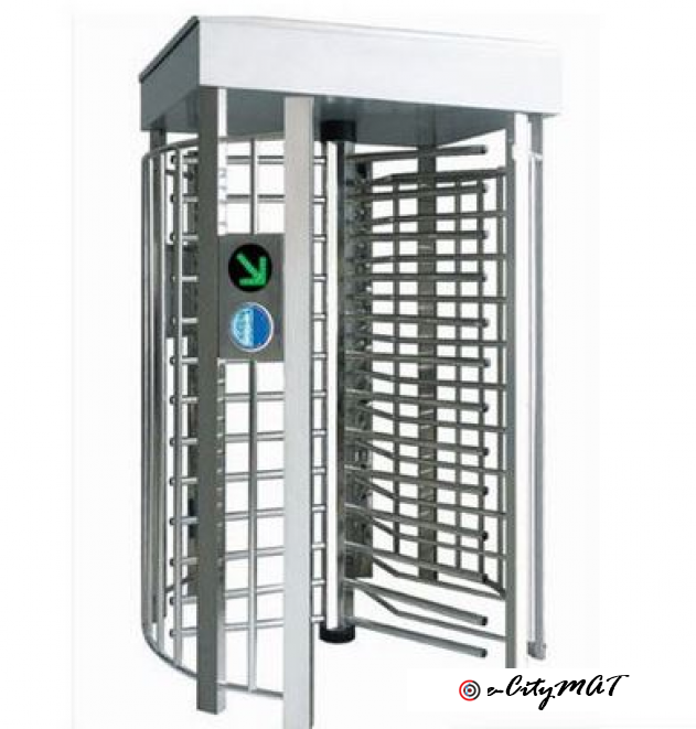 Single Side Automaticturnstiles High Security Rust-Proof Barrier BY HIPHEN SOLUTIONS
