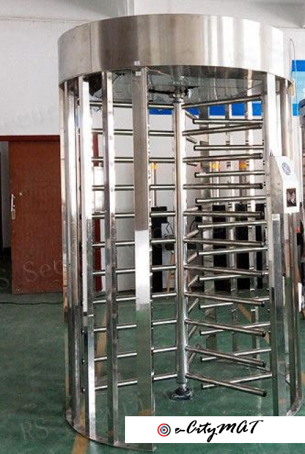 Single Passage Turnstile Entrance BY HIPHEN SOLUTIONS