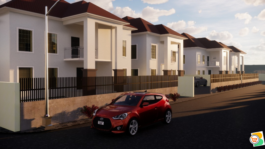 4 Bedroom Semi Detached Duplex plus bq For Sale at Karasana, Abuja (Call or Whatsapp - 08136248328)