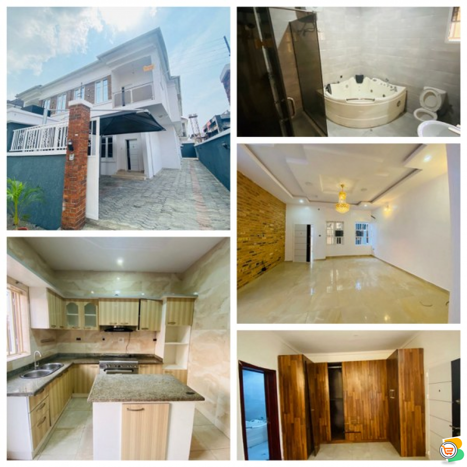 4 Bedroom Detached Duplex For Sale at Idado, Lekki