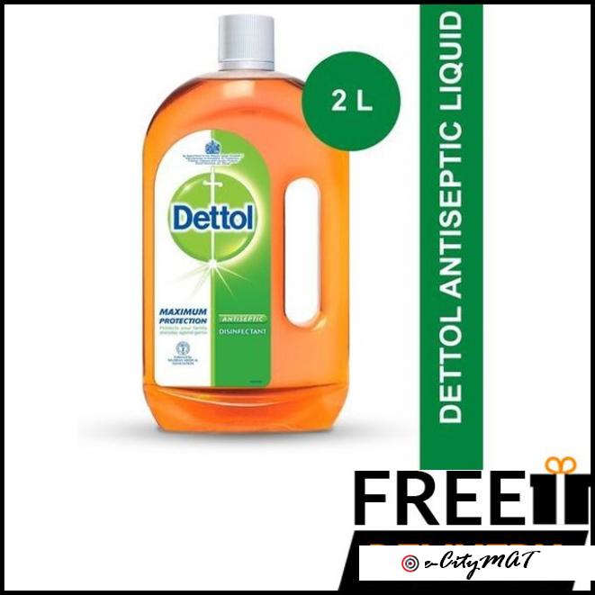 Dettol Antiseptic Liquid Disinfectant 2 Litres