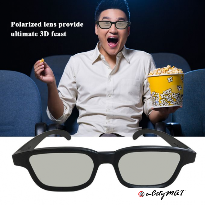 G90 Passive 3D Glasses Polarized Lenses For Cinema