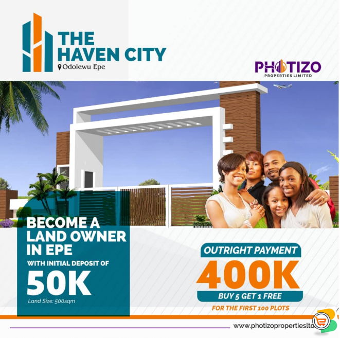 FOR SALE - Plots of Land at  The Haven City Epe (WATCH VIDEO)