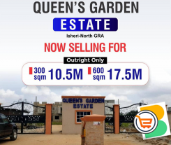 Plots of Land For Sale at QUEENS GARDEN ESTATE ISHERI-NORTH