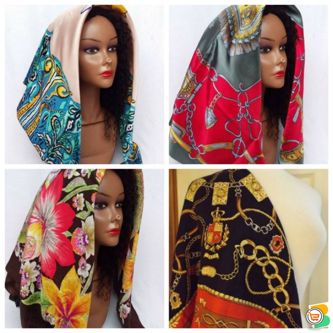 Vintage Scarf - Wholesale and Retail  available in both Large and Medium Sizes