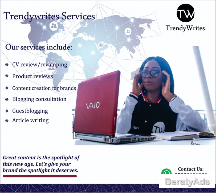 Are you in need of a professional content writer?