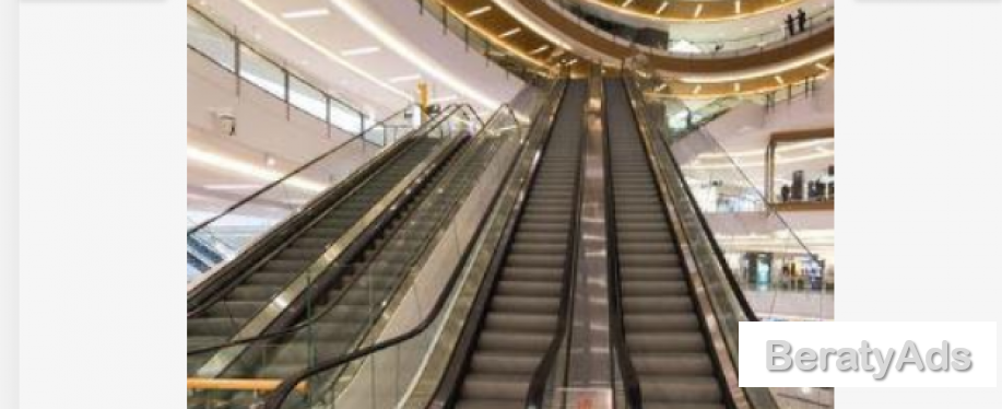 Electric Escalator Lift For Commercial Shopping Malls BY HIPHEN SOLUTIONS