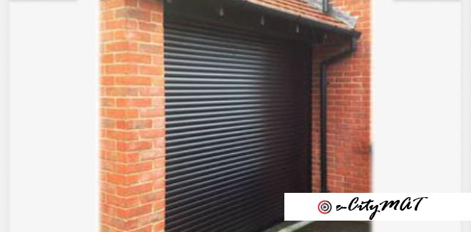 Galvanized Steel Rolling Shutter Door by HIPHEN SOLUTIONS