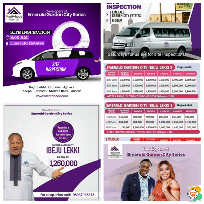 Buy Your Plot of Land Today at EMERALD GARDEN CITY IBEJU LEKKI (Call or Whatsapp - 08067968278)