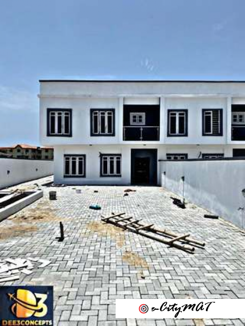 4bedroom fully detached duplex for sale in ijota