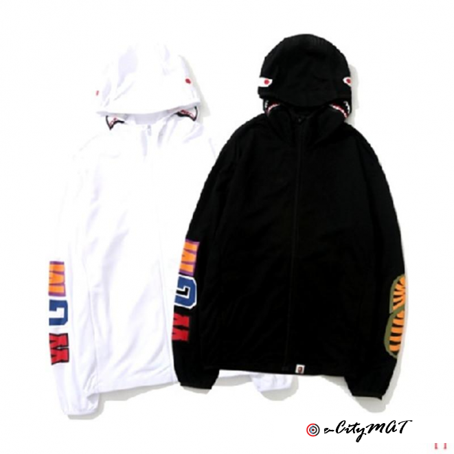 Mens Fashion Cartoon Hoodies Jacket High Quality Casual White Black Designer Hoodie Autumn Long Slee