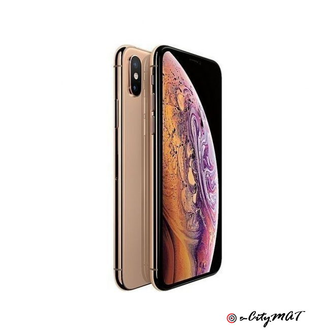 Apple IPhone XS Max (4GB RAM, 256GB ROM) IOS 12 (12MP + 12MP)+7MP Gold