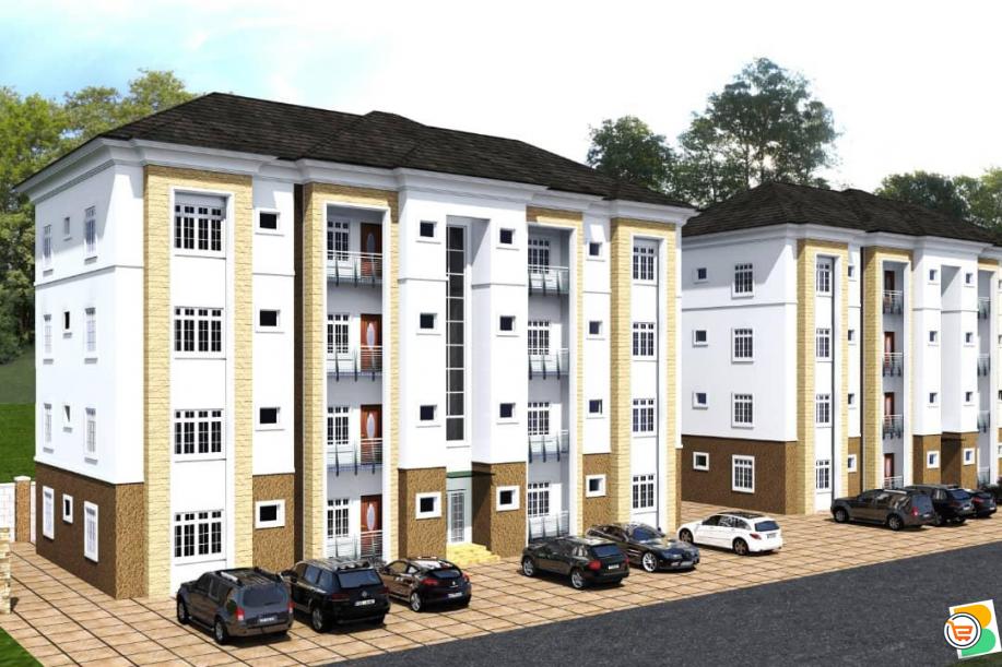 2 Bedroom Block of Flat For Sale at Karasana, Abuja (Call or Whatsapp - 08136248328)