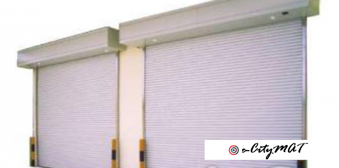 Commercial Roll Up Automatic Doors BY HIPHEN SOLUTIONS