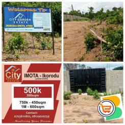 Buy A Land Today - Enjoy 20% to 30% Discount on CIty Garden Estate Ikorodu