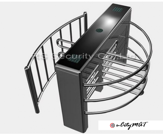 Intelligent Automatic Turnstiles Systems Half Height Turnstile Gate BY HIPHEN SOLUTIONS