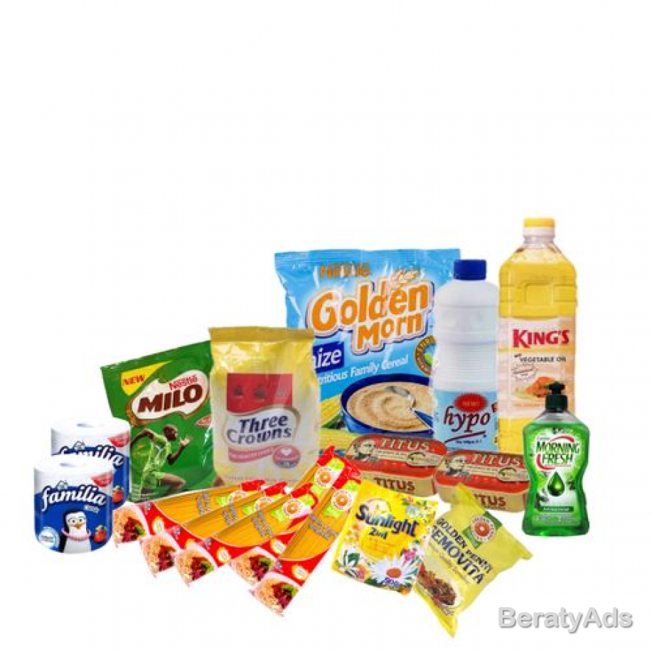 Basic Stay Home Necessities. Bundle 2