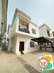 4 Bedroom Fully Detached  Duplex with a Room  BQ for sale at Ajah, Lekki (Call or Whatsapp - 0705600