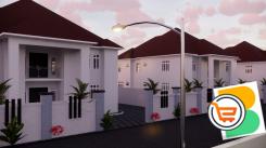 4 Bedroom Detached Duplex plus bq For Sale at Karasana, Abuja