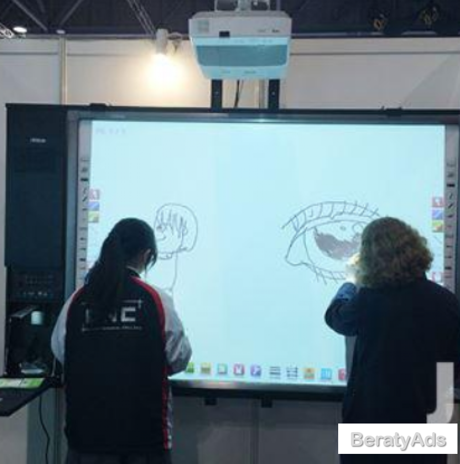 Touch Sensitive Digital Smart Interactive Board BY HIPHEN SOLUTIONS