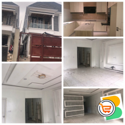 Beautiful 5 Bedroom Semi Detached Duplex with a room BQ for sale at 2nd Toll Gate Chevron, Lekki