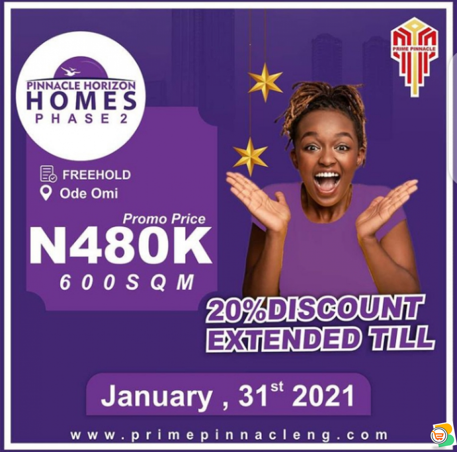 Become a Landlord Today with just N480k in Ibeju Lekki - Secure Your Future