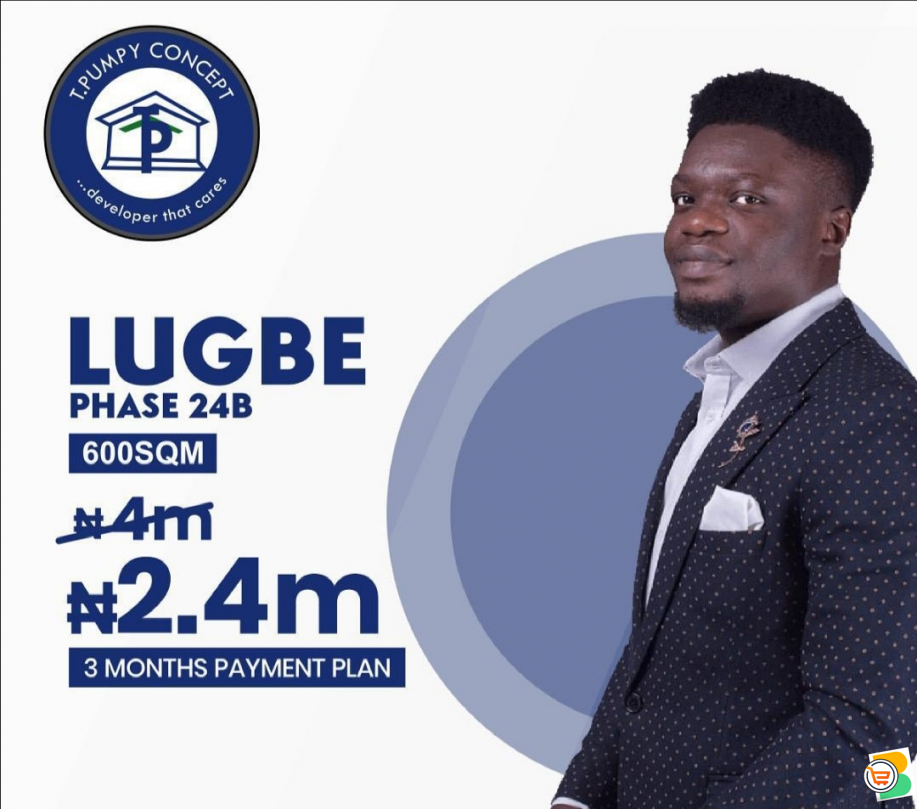 Tpumpy Estate land for sale in Abuja