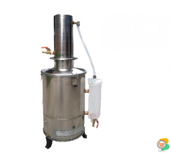 20L ELECTRONIC AUTOMATIC WATER DISTILLE IN NIGERIA BY SCANTRIK